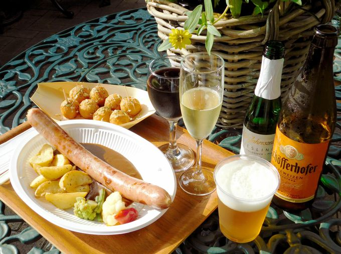 ドイツワインやビールで秋に乾杯!