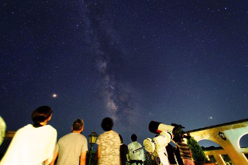 伊勢志摩で満天の星空を!「美食の隠れ家 プロヴァンス」で天体観測