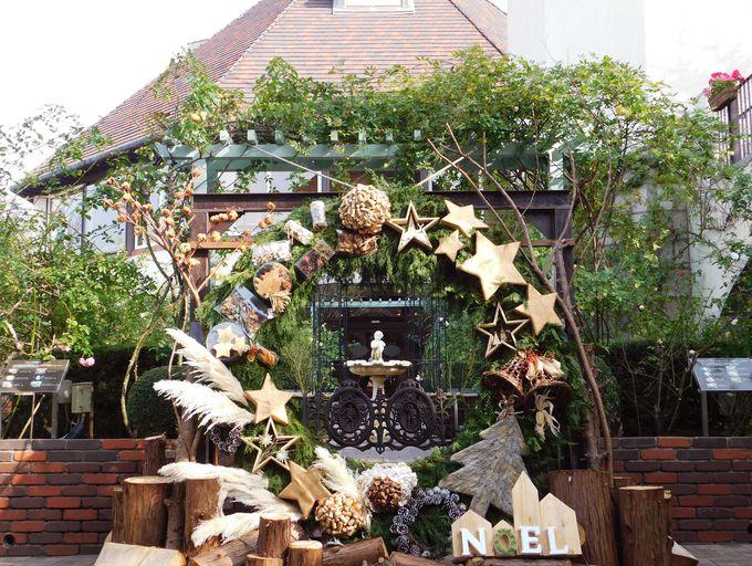 「古城のクリスマス2019」でボタニカルクリスマス!