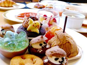 神戸ポートピアホテルのハロウィン・スイーツブッフェでゴーストハント!
