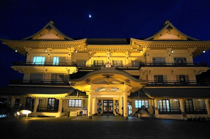 美しい近代建築「びわ湖大津館」へ到着!