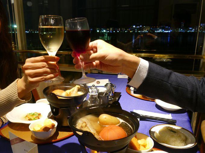 夜景クルーズにワインとおでん!?びわ湖「汽船deおでん」