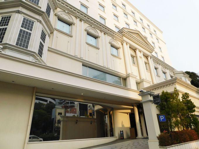 名古屋・八事駅直結の白亜のホテル