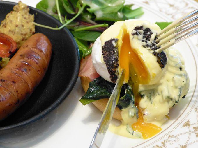 ランチプレートで楽しむトリュフや春野菜