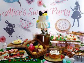 京都鴨川でアリスの限定スイーツブッフェを!「アリスのスイートティーパーティー」