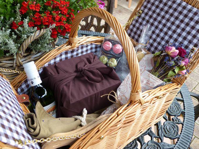 手ぶらで出かけるピクニック