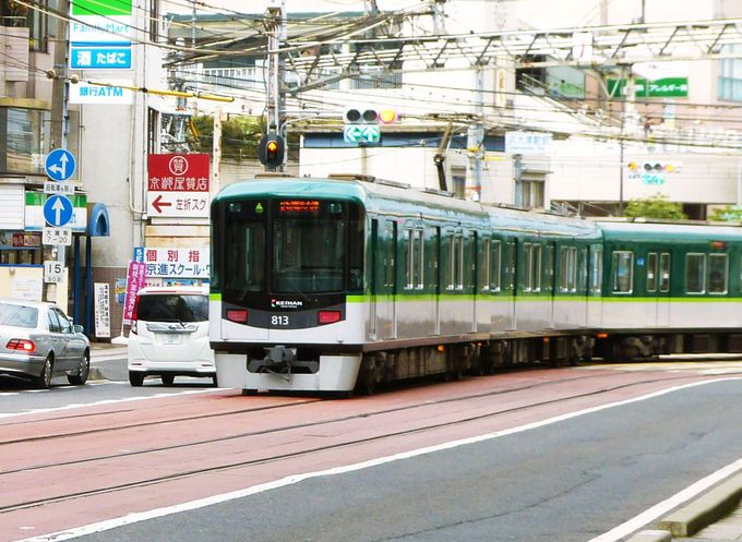 日本最長、66mの路面電車!