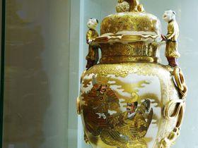 金に輝く陶磁器の祭典!名古屋・横山美術館「魅了する 煌めく薩摩」