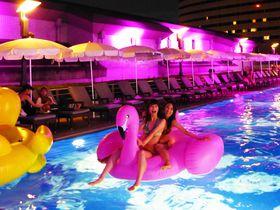 夏限定ナイトプールで涼しく夜遊び!神戸ポートピアホテル