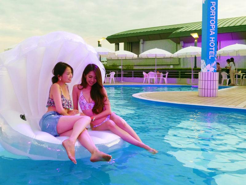 昼夜どちらも楽しめる!神戸ポートピアホテルで夏限定プールがオープン ...