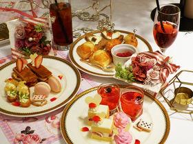 薔薇と苺とアリスの限定スイーツ!大阪「心斎橋セントグレースヴィラ」