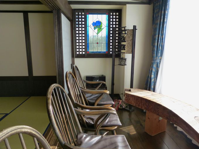 全44室の客室はすべて異なるデザイン!