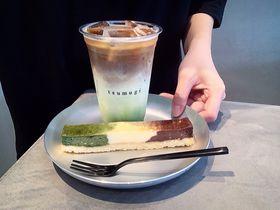 京都駅前「紡 cafe」で名店コラボの抹茶×コーヒー限定メニューを