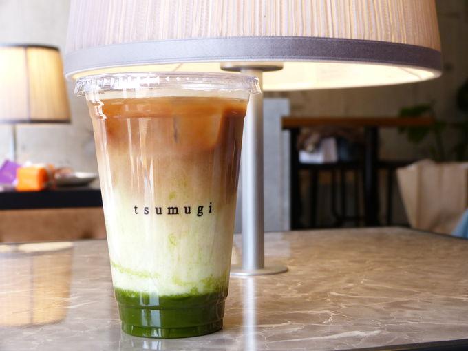 おすすめは京都の抹茶を使用した限定メニュー!