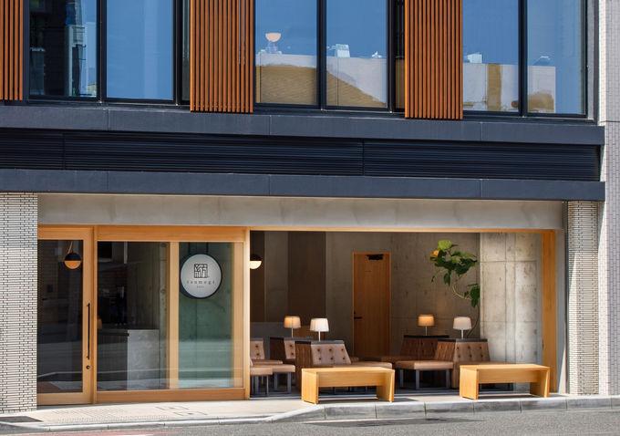 「紡 cafe」京都駅すぐ、京都タワーのすぐ近く