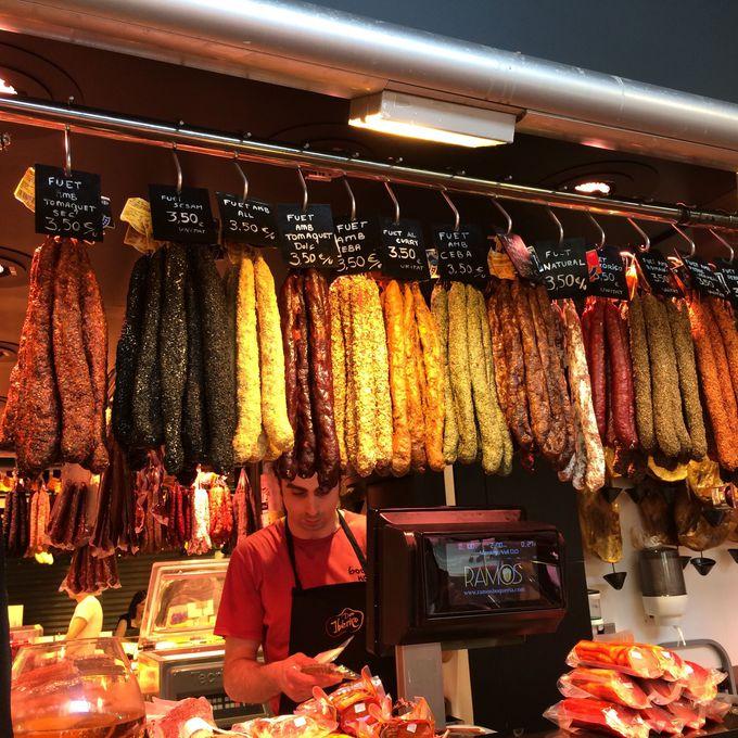 バルセロナ市民の台所!サン・ジュセップ市場