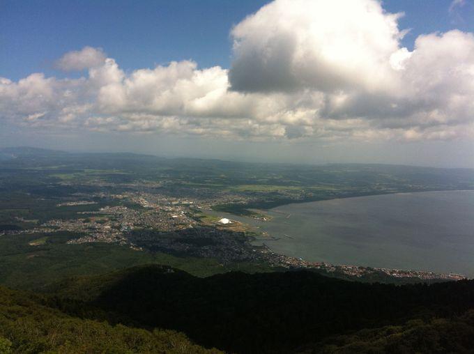 釜臥山からの眺め