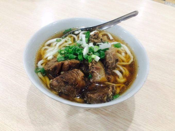 ホロホロの牛肉がたまらない、台湾料理・牛肉麺