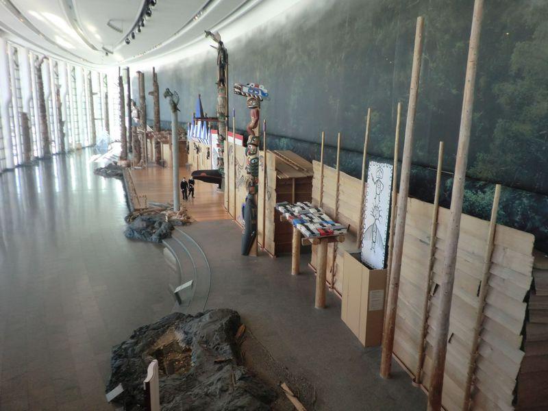 カナダ・ケベック州 カナダ歴史博物館で先住民文化を学ぶ