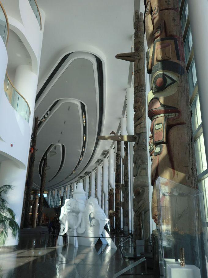カナダ歴史博物館で先住民文化へ想いをはせる
