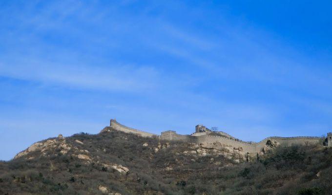 圧倒されるスケールの大きさ!世界遺産・万里の長城