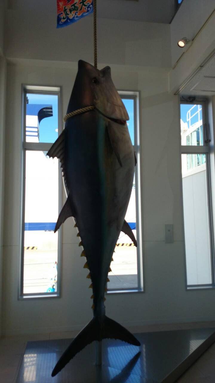 マグロの一本釣りで有名な大間崎