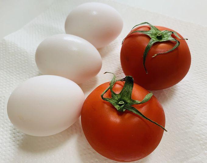 トマトの卵炒めの作り方