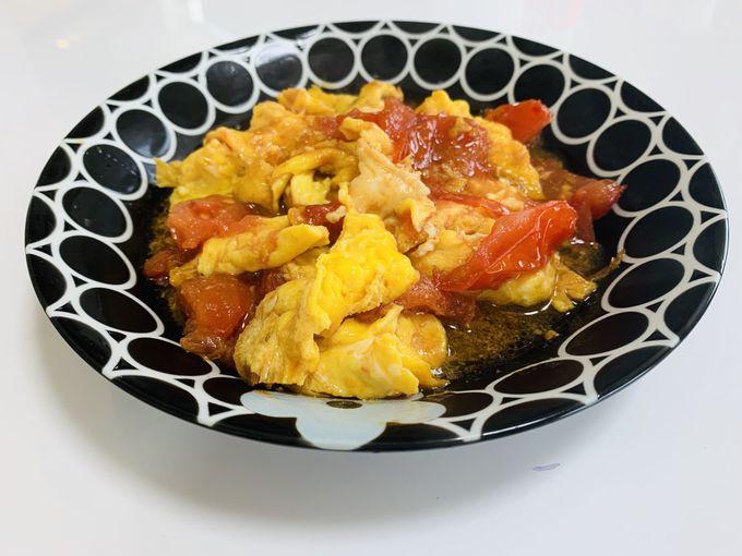 「トマトの卵炒め」(西紅柿炒ダン)とは