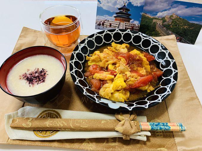 トマトの卵炒めで本格中華料理を/MISAKI IIDAさん