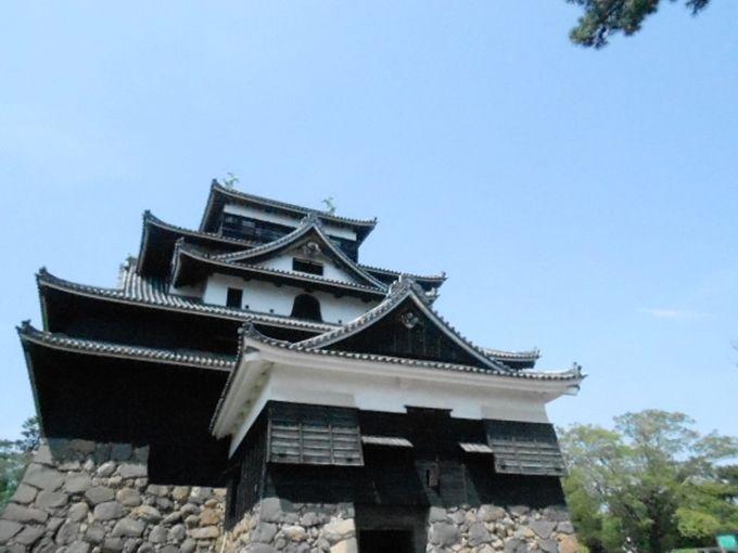 松江観光の中心 松江城へ