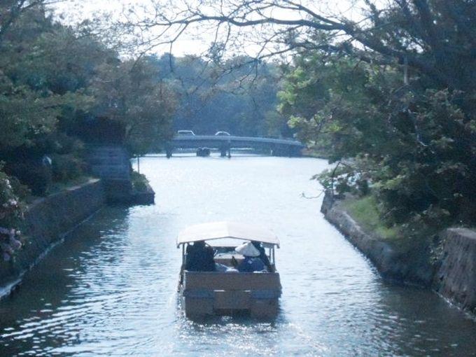 ちょっとしたアトラクション気分で楽しめる 堀川遊覧