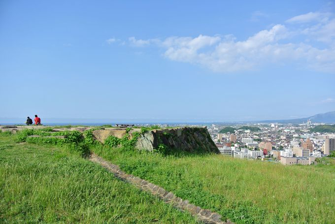 1.米子城跡