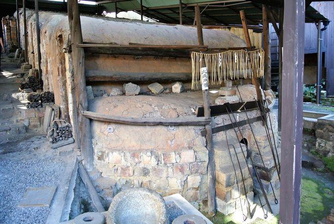 登り窯が見られる「河井�ェ次郎記念館」