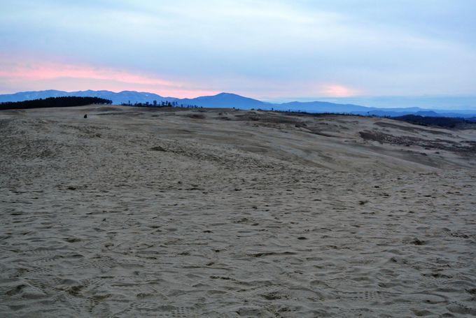 「鳥取砂丘」と会場までのアクセス
