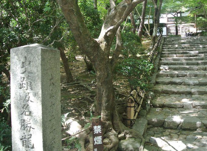 室町時代に建てられた名高い禅寺