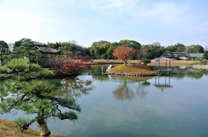 広大な敷地を誇る日本屈指の庭園