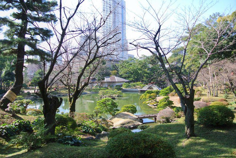 歴史ある大名庭園!広島「縮景園」は緑豊かな都会のオアシス