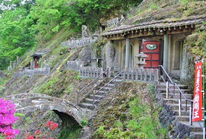 鉱山で働く人の精神的な支えだった「羅漢寺」