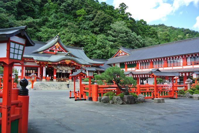 江戸時代から続く歴史ある神社