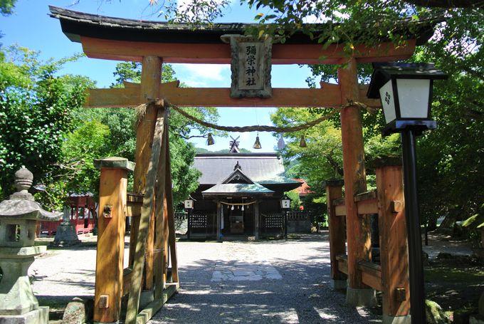 鷺舞が奉納される神社