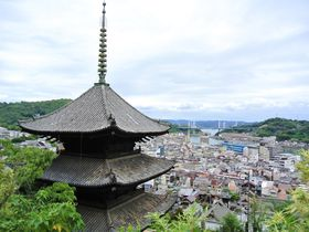 尾道の町を一望!「天寧寺」はインスタ映え必至スポット