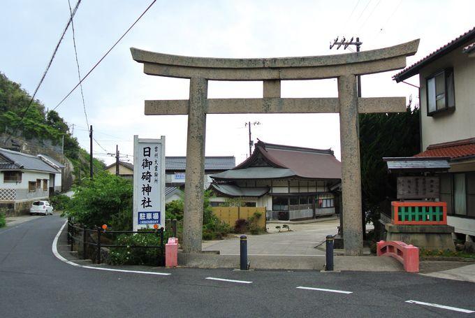 歴史ある由緒正しい神社