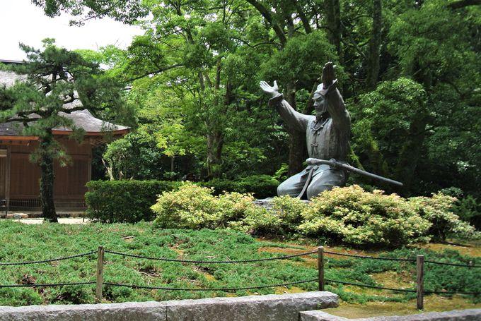 縁結びの神様が祀られる神社