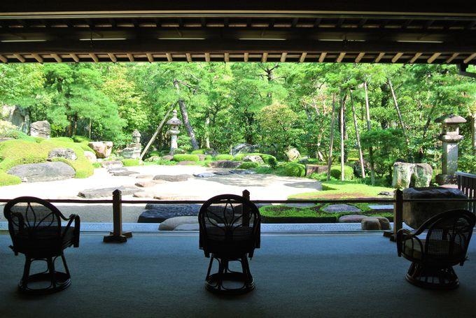島根「平田本陣記念館」額縁で切り取ったような庭園は必見!