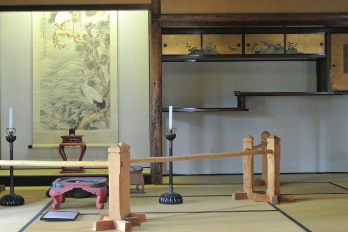 江戸時代の豪商の屋敷を再現