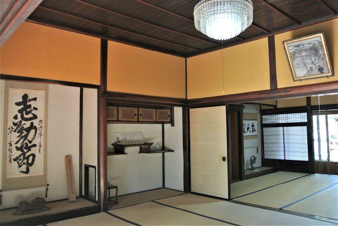 松江藩主も滞在した豪華な建物