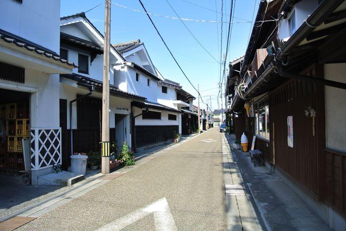 江戸時代の面影が残る街並み