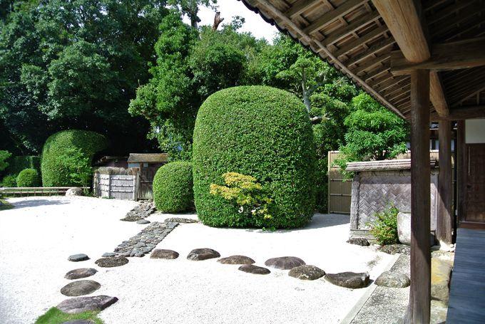 工夫に溢れた庭園