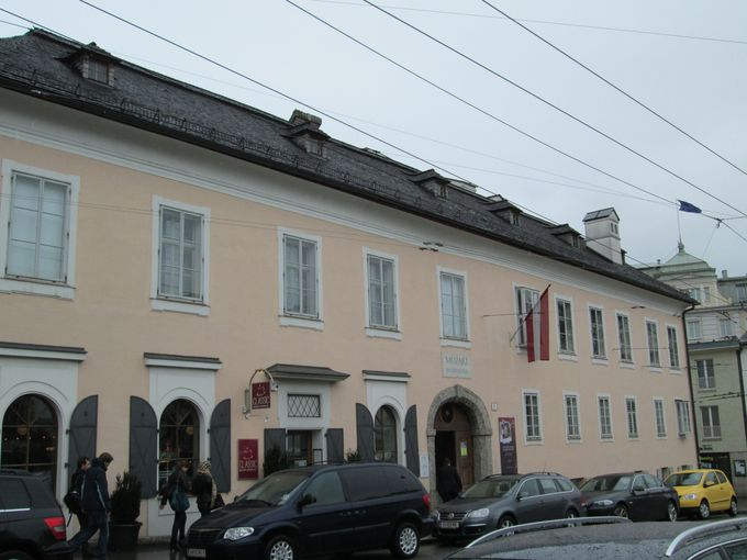 1.モーツァルトの生家