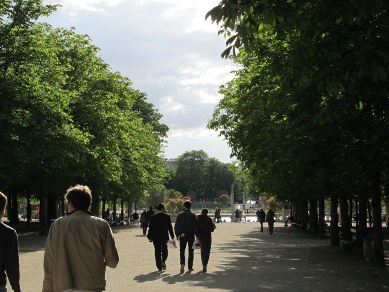 リュクサンブール公園でお散歩してみよう!